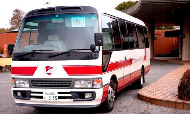 画像: クラブバスはJR蘇我駅より(平日は予約制、土日祝は定期便+α)