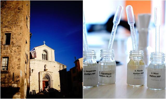 画像: グラースの街では香水作り