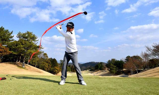 画像2: 【スウィング】フェードの達人・伊澤利光が教える「最新ドライバー」フェードの打ち方