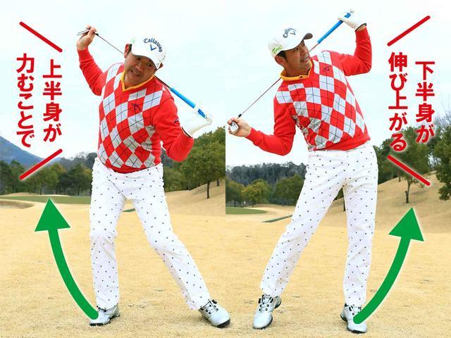 画像4: 2個先の青ボールを打つ意識で振る