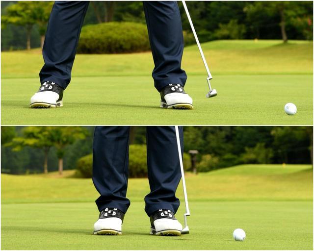 画像2: 斜面に逆らう回転をかけて直線的に狙う