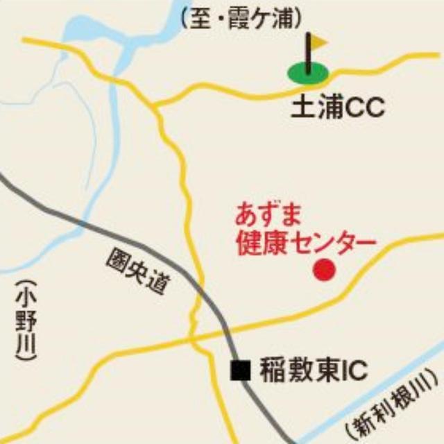 画像: コースへは、圏央道:稲敷ICから約6km、圏央道:稲敷東ICから約5km