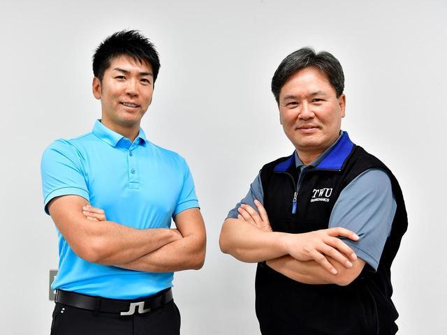 画像: 左)吉田洋一郎、右)Dr.クォン