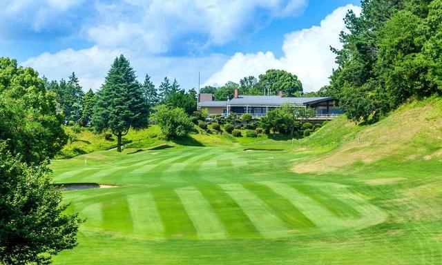 画像: ゴルフクラブ四条畷18番ホール(365Y・P4)1960年開場、大阪近郊の名コースのひとつ