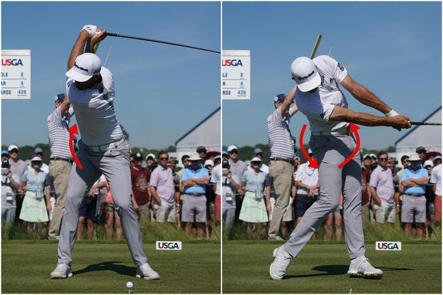 画像: 体のタテ方向の回転は「前後軸」が中心になる。「地面反力」で不可欠な軸