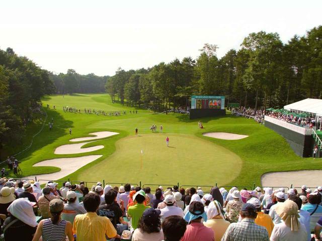 画像: 2010~2013年「ニトリレディスゴルフトーナメント」開催。(写真は2010年)