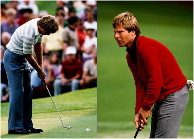 画像: B・クレンショー、マスターズ1984、95年と2度優勝(32歳時、1984マスターズ)