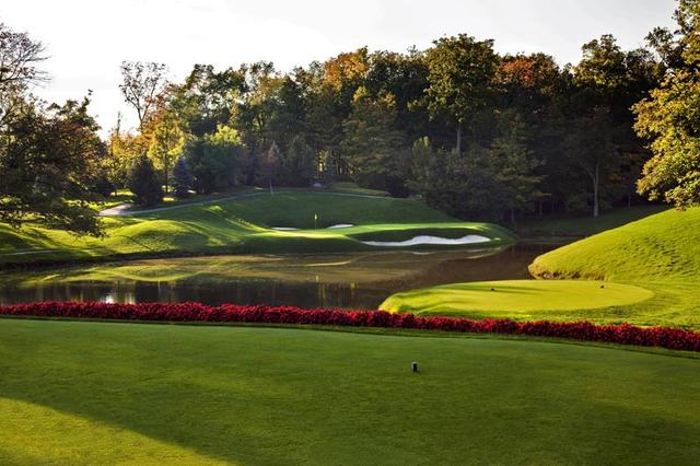 画像: ニクラスの故郷オハイオ州にあるミュアフィールド・ヴィレッジゴルフクラブ(18H・7366Y・P72/12番・184Y・P3)
