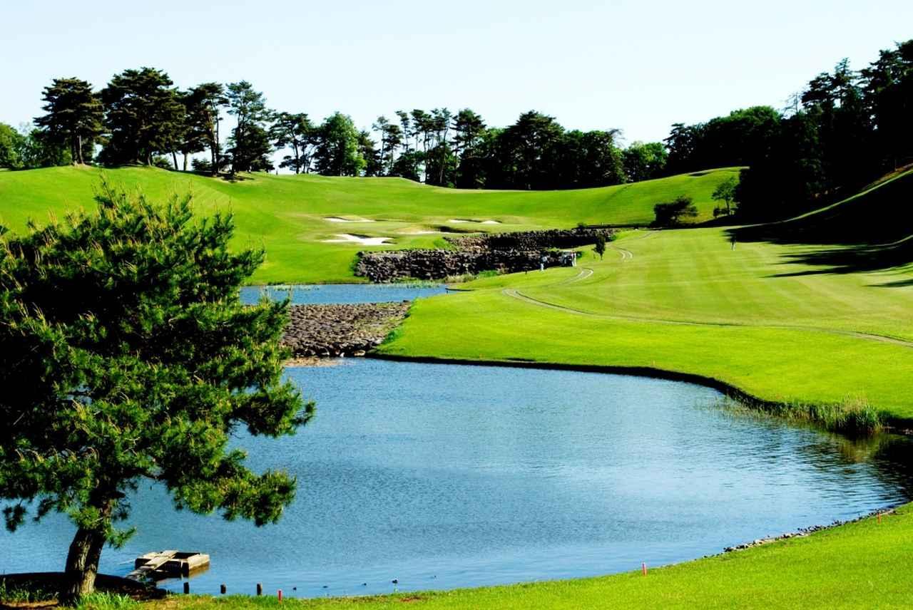 画像: ニュー・セントアンドリュース ゴルフクラブ・ジャパン 16番ホール(375Y・P4)