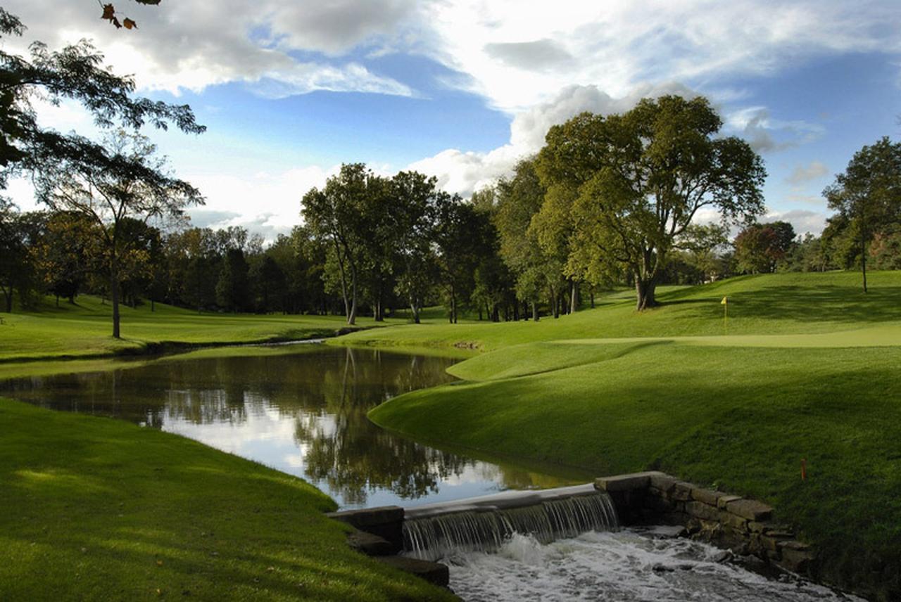 画像: PGAツアー「メモリアルトーナメント」の舞台、ミュアフィールド・ヴィレッジ GC(3番・401Y・P4)。2014年には松山英樹が優勝