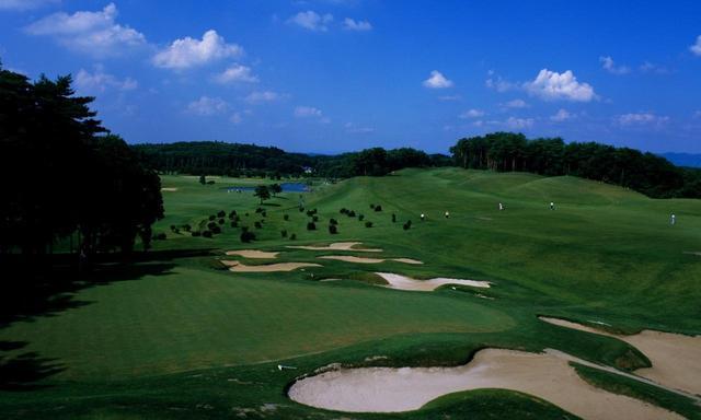 画像: 栃木県にあるニュー・セントアンドリュース ゴルフクラブ・ジャパン(18H・6718Y ・P72/4番・527Y・P5)