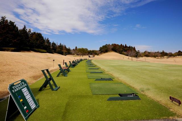 画像: 打席数は19。まるで海外のゴルフ場のよう