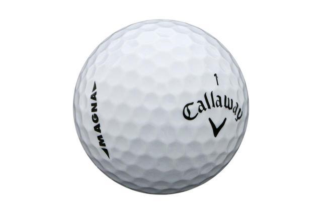 画像: 通常ボールよりも3%大きい「スーパーソフト マグナ」(キャロウェイ)