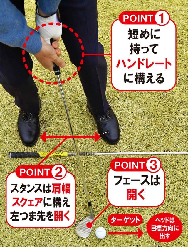 画像: 飛ぶ構えでそーっと振っている人が多いと横田は指摘。飛ばない準備をしていれば、安心してふれるという