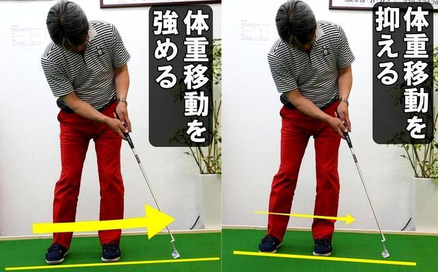 画像3: 体重移動を使うと重力を味方につけられる