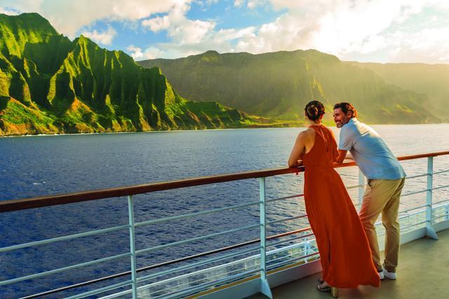 画像: デッキに出れば、つねにハワイのダイナミックな眺め