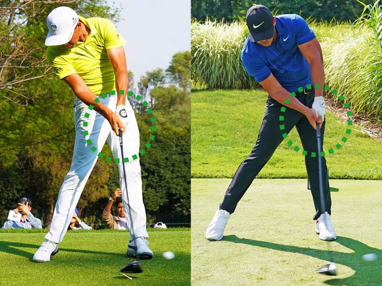 画像: リッキー・ファウラー(左)、ブルックス・ケプカ(右)