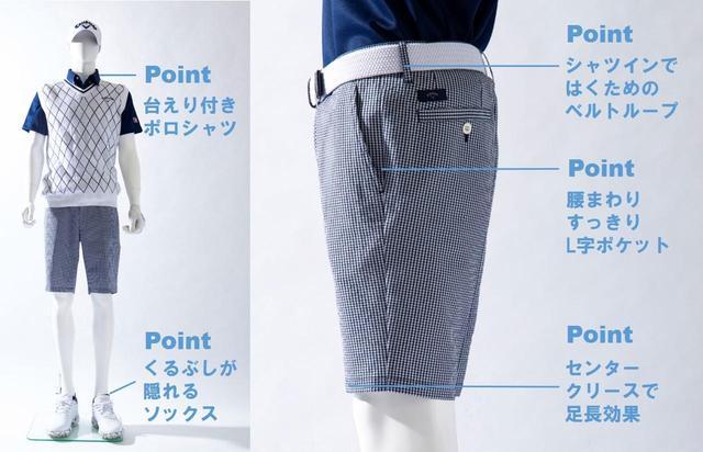 画像: 着こなしのポイント オトコの王道「青×白コーデ」なら簡単にキマる