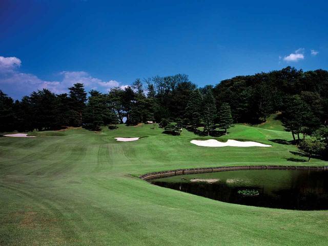 画像: 11番ホール/183㍎/パー3 距離のある池越えで攻略のポイントは風を読むこと