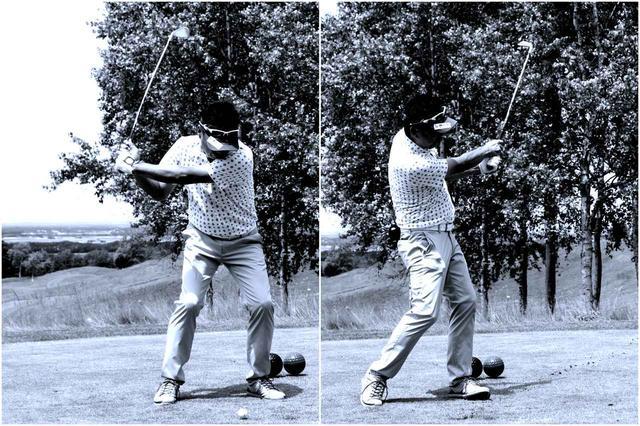 画像: コースが要求してくる球をさりげなく打つ。ゴルフの快感