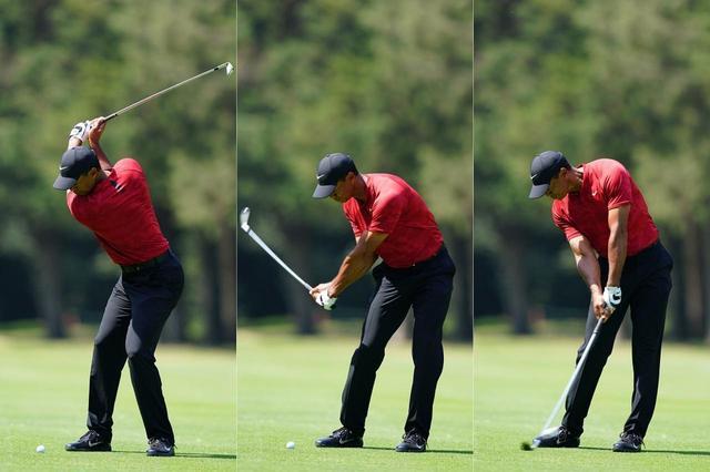 """画像: 【反力打法】タイガーで証明された飛ばしの本流。地面からパワーをもらい活かす""""3つの柱""""。 - ゴルフへ行こうWEB by ゴルフダイジェスト"""