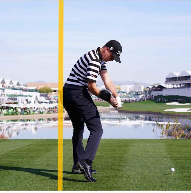 画像: 【連続写真タテ並べ②】線を1本タテに引くと、自分のスウィングを正しくチェックできる! - ゴルフへ行こうWEB by ゴルフダイジェスト
