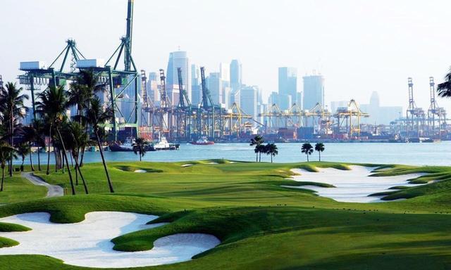 画像: 【シンガポール・セントーサゴルフクラブ】南端の小島に浮かぶ、アジア屈指の超難シーサイド。設計はR・フリーム - ゴルフへ行こうWEB by ゴルフダイジェスト