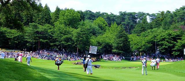 画像: JGTOツアー選手権の風景