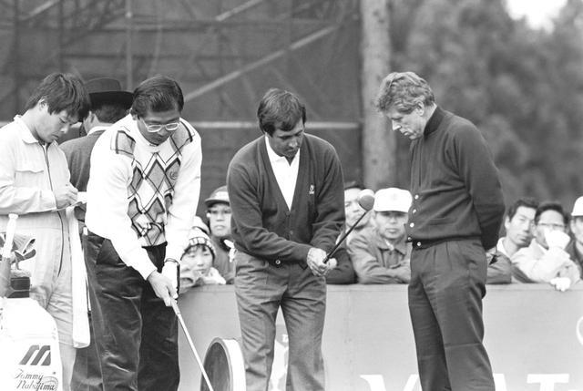 【伝説の名勝負。ヒーローの足跡】太平洋クラブ御殿場コース。「これがセベのゴルフだ」ジプシー後藤。1988年VISA