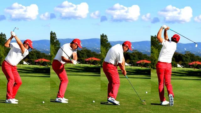 画像: 【北海道・合宿】ナイスショットが続く。シンプルなスウィングが体に馴染む。米田貴プロの上達合宿3日間 - ゴルフへ行こうWEB by ゴルフダイジェスト