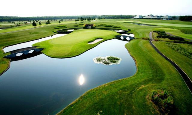 画像: ザ・ノースカントリーゴルフクラブ(16番・184Y・P4)