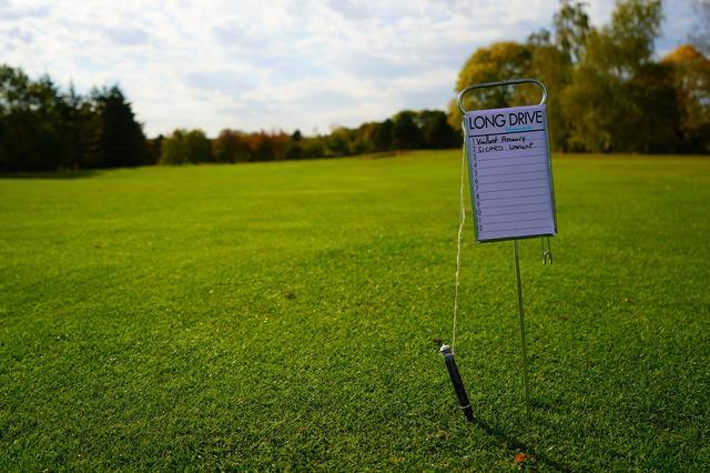 画像: 絨毯の上でプレーしているような芝は、歩いているだけで気持ちよい。