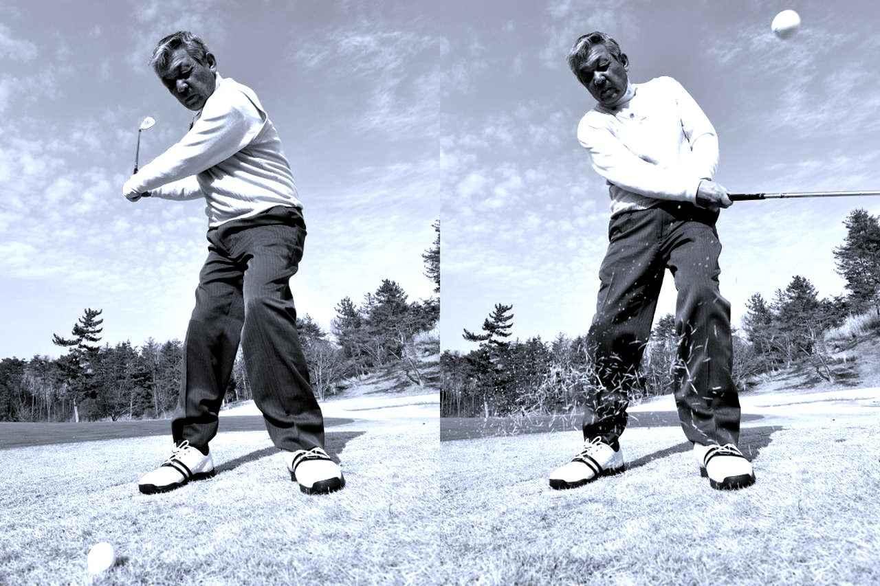 画像: 球を打つのは、体ではなくクラブヘッド
