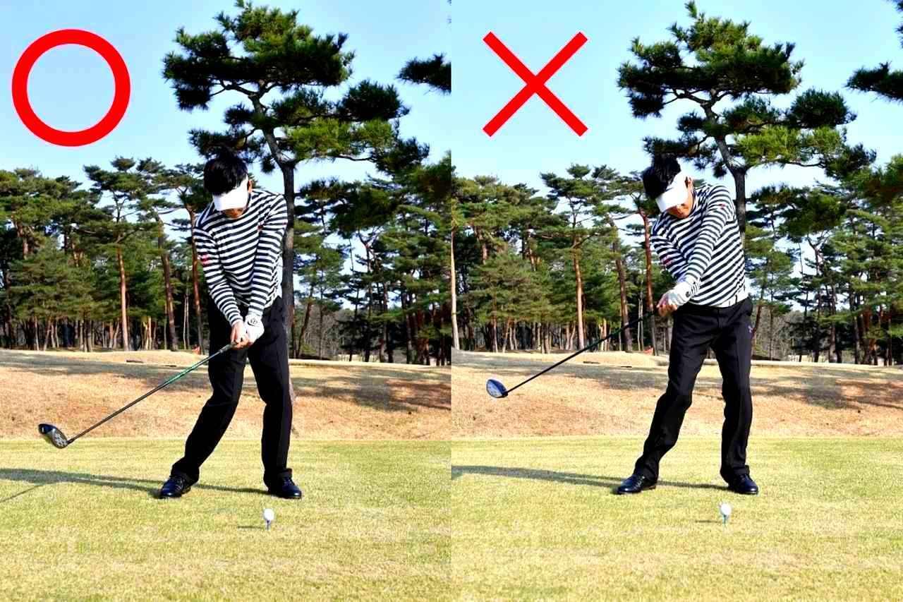 画像: 自分で高い球を打とうとしないでレベルブローを意識
