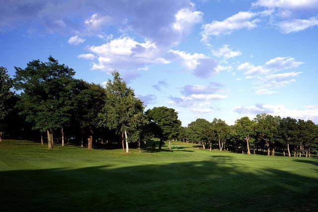 画像: 輪厚コース17番(579Y・P5)ANAオープンでも有名な左ドッグレッグのパー5。林の上をうまく越せば2オン可能なドラマティックなホール