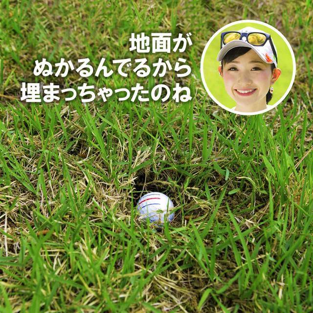 画像2: 【新ルール】ボールが地面にくい込んでいた、さぁどうする?