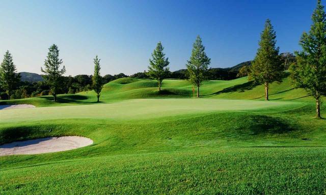画像: ユニ東武ゴルフクラブ グリーンはペンクロスの高速仕上げ