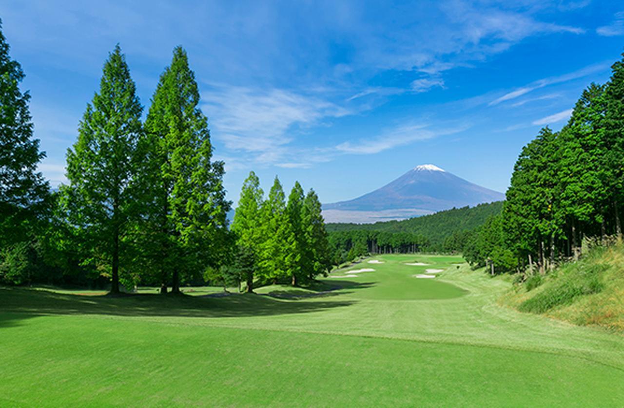 画像: レンブラントゴルフ倶楽部御殿場 標高400メートルの丘陵に広がる。富士山を眺められる比較的フラットな18ホール