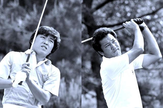 画像: 1982年の日本マッチプレー。決勝は青木功vs羽川豊の対決