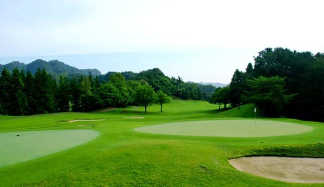 画像2: 筑波 日光 富士コースの27ホール。設計は富澤誠造