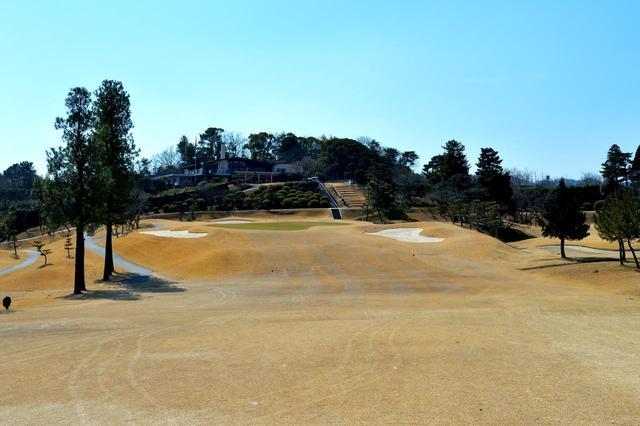 画像: 奈良国際ゴルフ倶楽部 18番グリーン