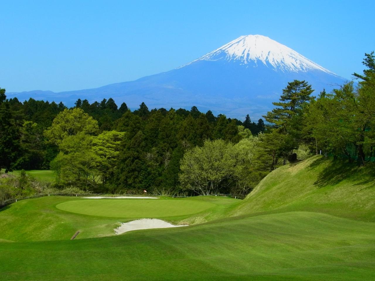 画像: 富士カントリークラブ 3番(187Y・P3)