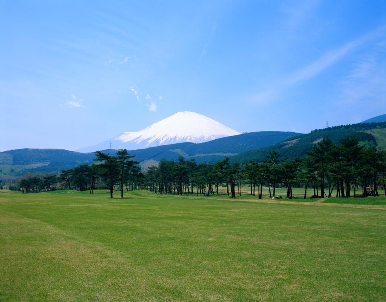 画像: 富士小山ゴルフクラブ ブラインドホールがまったくない18ホール