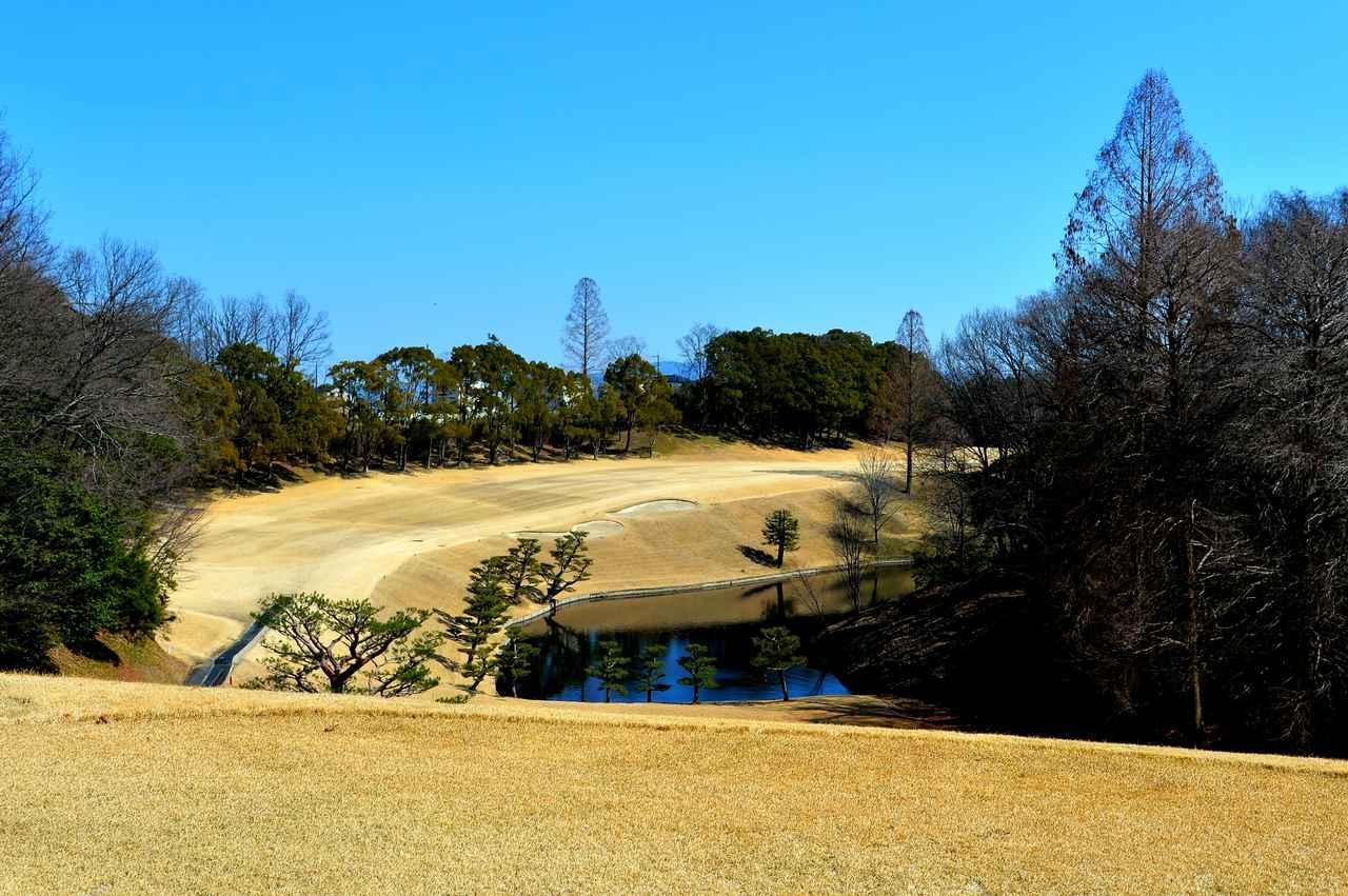 画像: 奈良国際ゴルフ倶楽部 17番(445Y・P5)