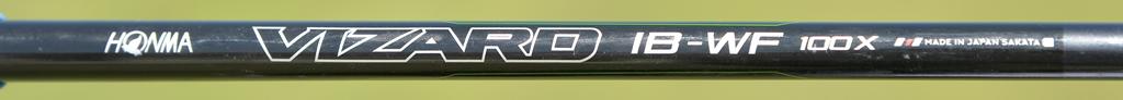 画像: カーボンと金属の複合シャフトである「VIZARAD-IB」は、フルショットでは球が上がりやすく、抑えて打った際のコントロール性能も高い