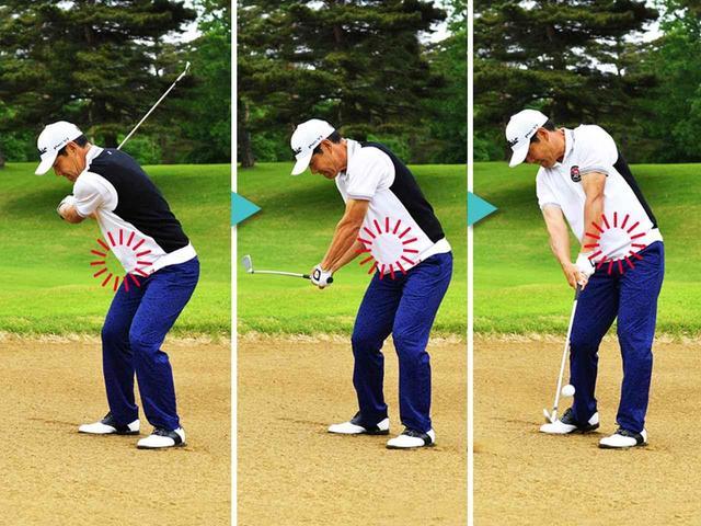 画像: 【アイアン】フェアウェイバンカーは8割スウィングで軸ブレを防ぐ by今野康晴プロ - ゴルフへ行こうWEB by ゴルフダイジェスト