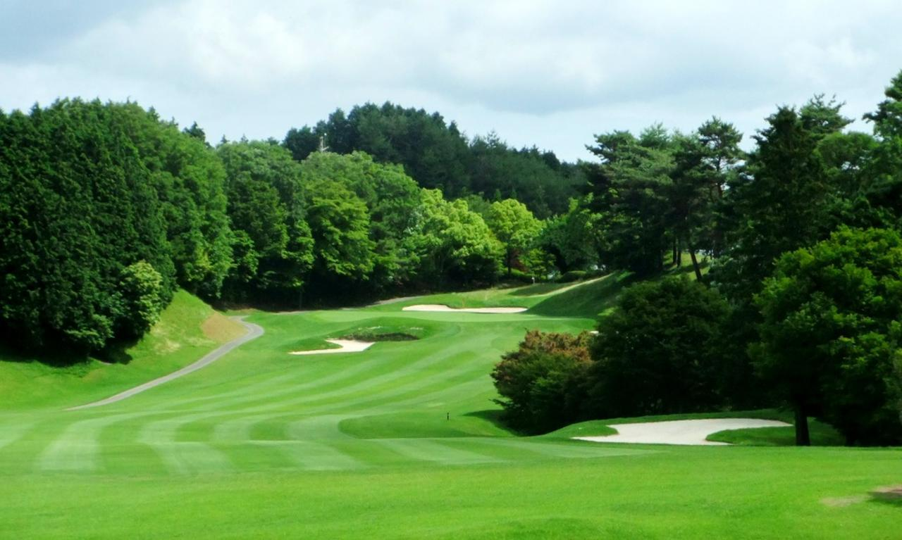 画像: ディアーパークゴルフクラブ 18番ホール(424Y・P4)