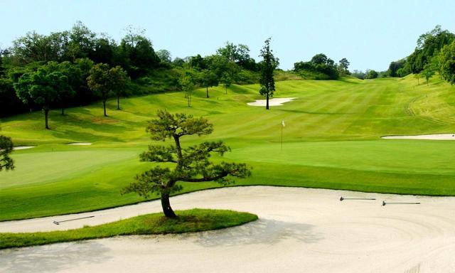 画像: 比良ゴルフ倶楽部 3番(425Y・P4)