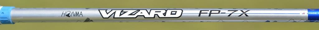 画像: 本間ゴルフの「VIZARAD-FP」シャフトは、複数のPROTOTYPE【P】を融合(FUSION)【F】してつくられた。中央部からグリップ下部分にしなりが強い中軟粘り系