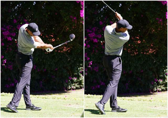 画像: 「8割ぐらいの力でシュンと振っている」ジャンボ 「腰を甘やかさずにしっかり回せている」ジェット 「タイガーのスウィングのままリニューアルしてきた」ジョー